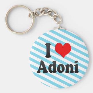 I Love Adoni, India Keychain