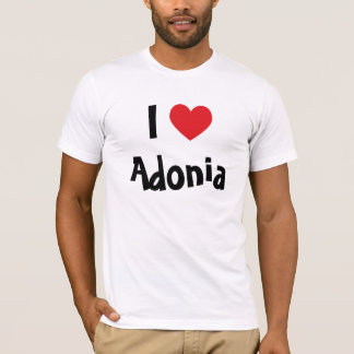 I Love Adonia T-Shirt
