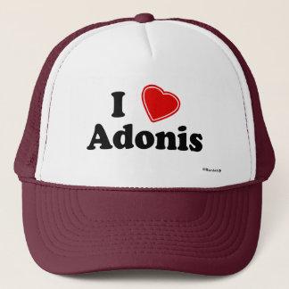 I Love Adonis Trucker Hat