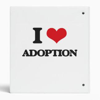 I Love Adoption 3 Ring Binder