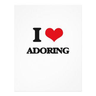 I Love Adoring Flyer