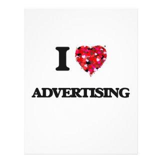 "I Love Advertising 8.5"" X 11"" Flyer"