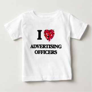 I love Advertising Officers Infant T-shirt