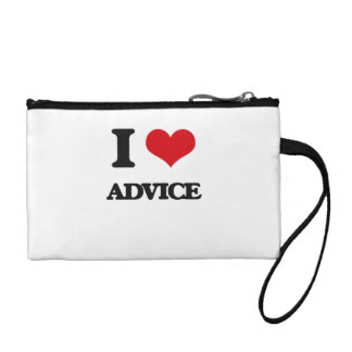 I Love Advice Coin Wallets