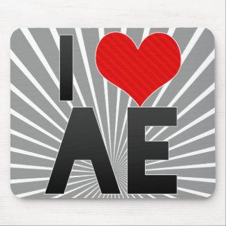 I Love AE Mouse Pad