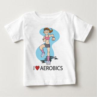 I Love Aerobics Baby T-Shirt