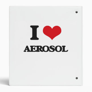 I Love Aerosol Binders