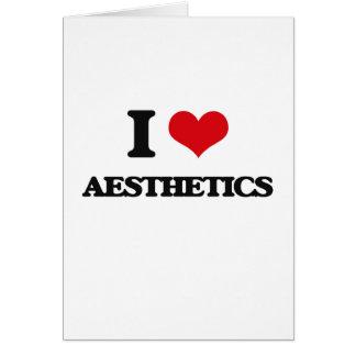 I Love Aesthetics Card