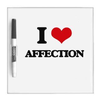 I Love Affection Dry-Erase Boards