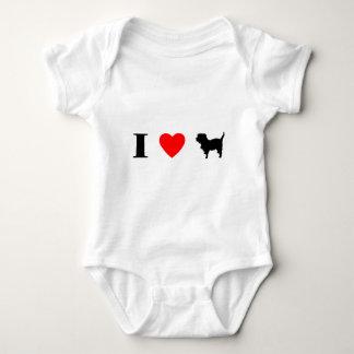 I Love Affenpinschers Baby Bodysuit