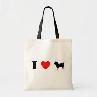 I Love Affenpinschers Bag