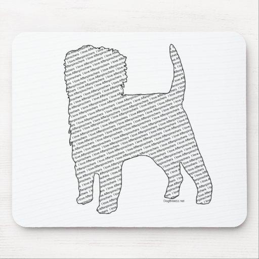 I Love Affenpinschers Mouse Pad