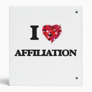 I Love Affiliation 3 Ring Binder