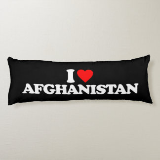 I LOVE AFGHANISTAN BODY PILLOW