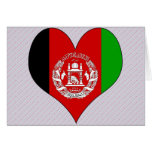 I Love Afghanistan Card