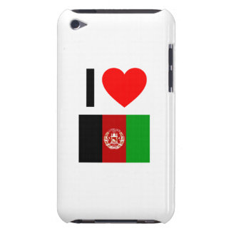 i love afghanistan barely there iPod case