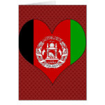 I Love Afghanistan Greeting Card