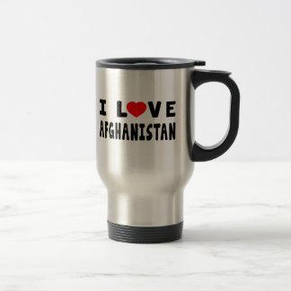 I Love Afghanistan Coffee Mugs