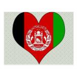 I Love Afghanistan Postcard