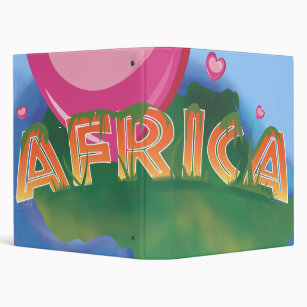 Cartoon African Map Office School Products Zazzle