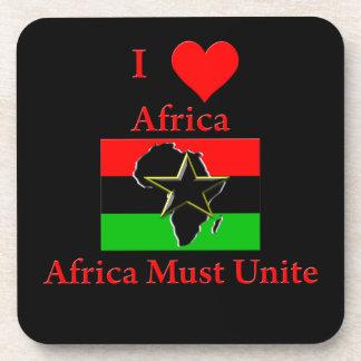 I Love Africa, Africa Must Unite Coaster