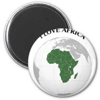 I LOVE AFRICA--DESIGN 1 FROM 933958STORE REFRIGERATOR MAGNET
