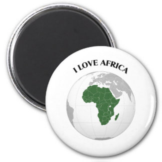 I LOVE AFRICA--DESIGN 1 FROM 933958STORE REFRIGERATOR MAGNETS