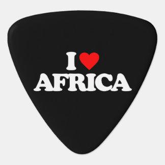 I LOVE AFRICA GUITAR PICK