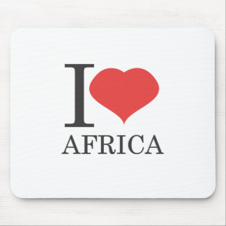 I love Africa Mouse Pad