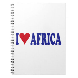 I Love Africa Notebook