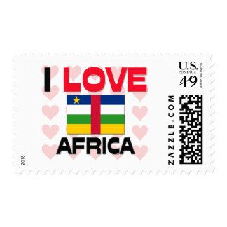 I Love Africa Postage