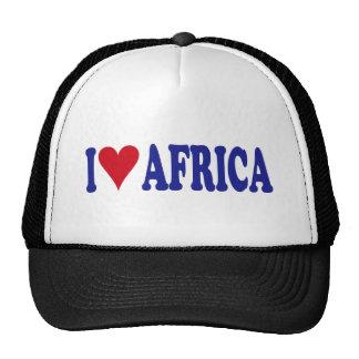 I Love Africa Trucker Hats