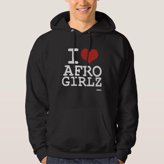I love Afro Girls Hoodie
