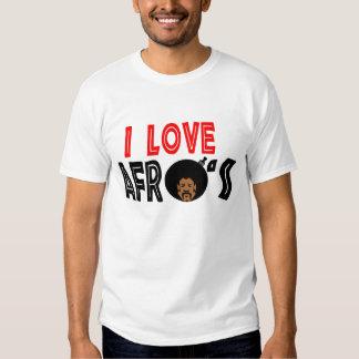I Love Afro --T-Shirts Shirt