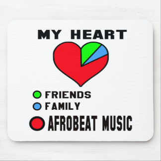 I love Afrobeat. Mouse Pad