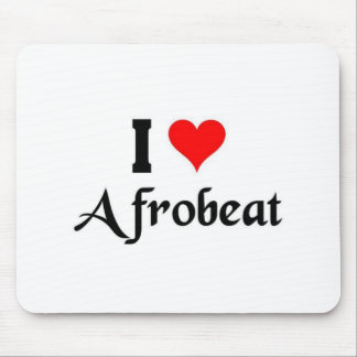 I love afrobeat mouse pad