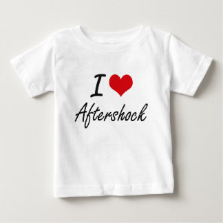 I Love Aftershock Artistic Design T-shirt
