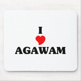 I love Agawam Mouse Pad