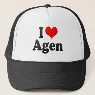 I Love Agen, France. J'Ai L'Amour Agen, France Trucker Hat