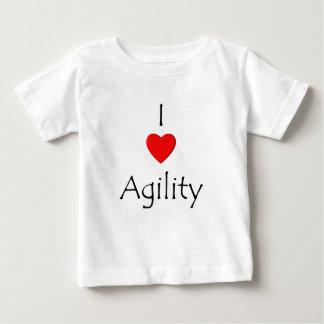 I Love Agility Baby T-Shirt