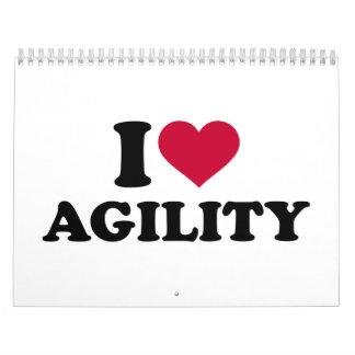 I love agility calendar