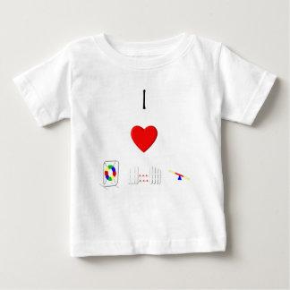 I Love Agility (equipment) Baby T-Shirt