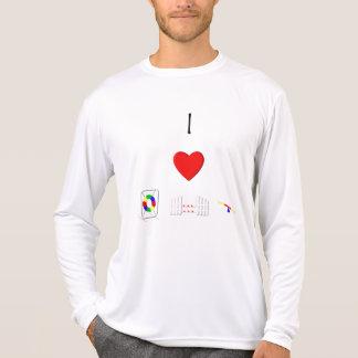I Love Agility (equipment) T-Shirt
