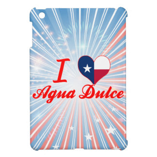 I Love Agua Dulce, Texas iPad Mini Cover