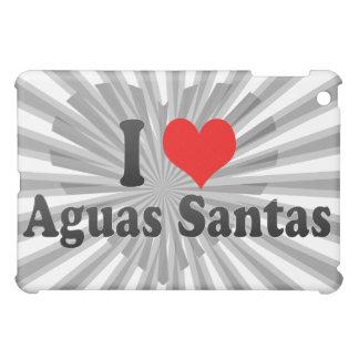 I Love Aguas Santas, Portugal iPad Mini Cover