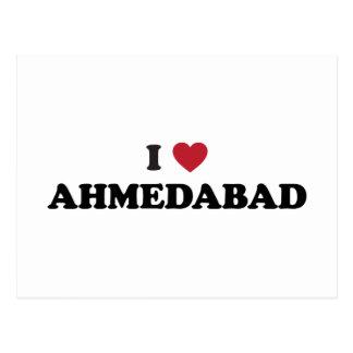 I love Ahmedabad India Postcard