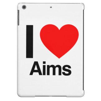 i love aims iPad air cases