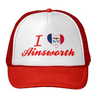 I Love Ainsworth, Iowa Trucker Hat