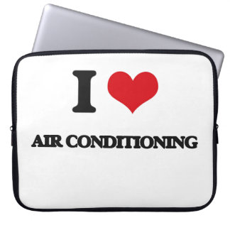 I Love Air-Conditioning Laptop Sleeves