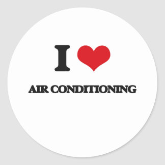 I Love Air-Conditioning Sticker